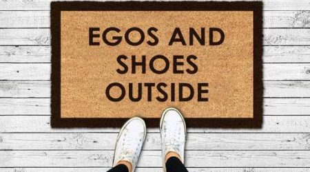 egos and shoes