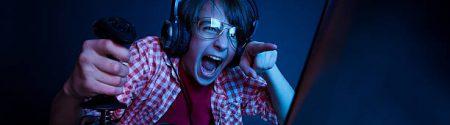 He had revenge in video games. Emotional kid play computer games online.